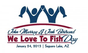 We Love to Fish Day Arizona Logo