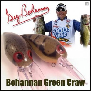 Greg Bohannan Signature Skirmish Baits - Green Craw