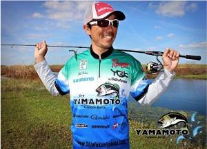 Shin Fukae to Run Yamamoto Baits Wrap - photo courtesy Shin Fukae Facebook