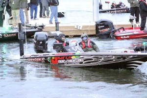Chad Morgenthaler Takes Off at the 2015 Bassmaster Classic
