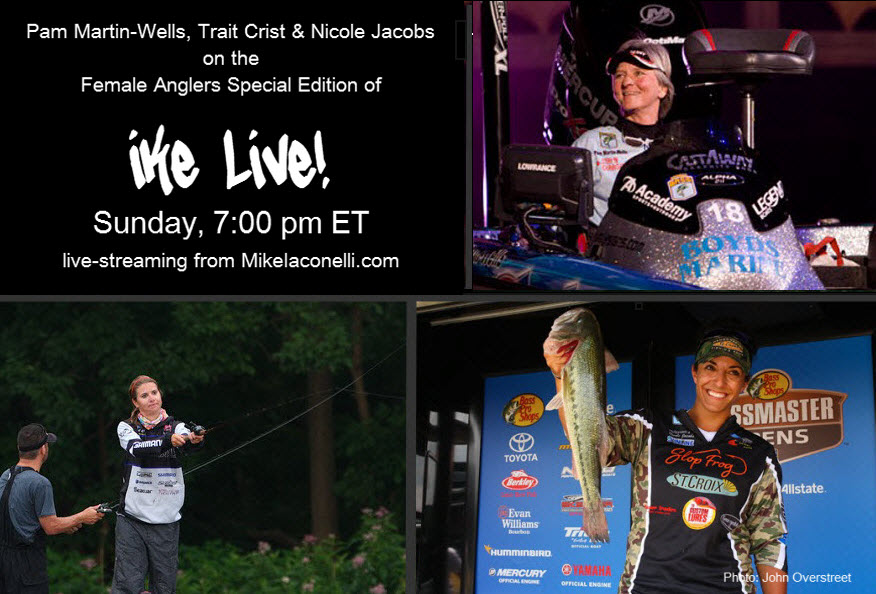 Ladies Night on Ike Live with Mike Iaconelli