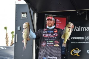 JT Kenney Leads Day One at FLW Tour Lake Toho - photo courtesy of FLW