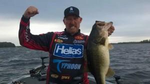 Wesley Strader Big Catch- photo courtesy FLW