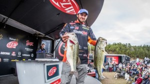 Zack Birge Leads Day Three of the FLW Tour Smith Lake Event photo by FLW