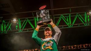 2015 FLW Tour Beaver Lake Winner Matt Arey - photo courtesy FLW