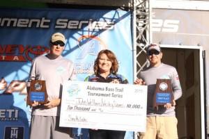 Alabama Bass Trail Smith Lake 2015 Champions (Custom)