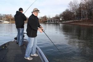 Grand Lake, Grove Oklahoma Bass fishin