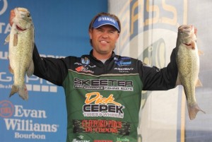 Bassmaster Elite Series Havasu Day Two Leader Clifford Pirch - photo by Seigo Saito - Bassmaster