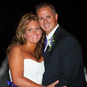 Chris & Laura wedding day