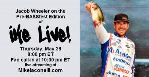 Ike Live - May 28 - w Jacob Wheeler - for press