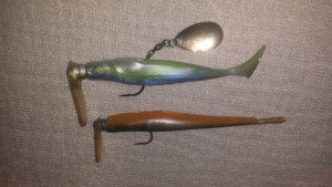 Scrounger Head and Trailer with Scrounger Had Modifications - photo by Mike Ferman - Tackle Modz