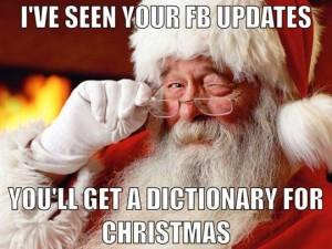 Funny-Santa-meme-Ive-seen-your-Facebook-updates