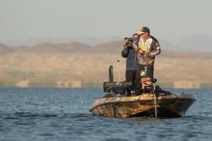 John Murray Fishing on Lake Havasu - photo by Seigo Saito - Bassmaster