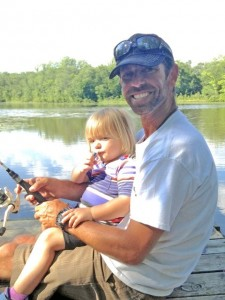Mike Iaconelli and daughter Stella