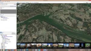 Google Earth Coosa River