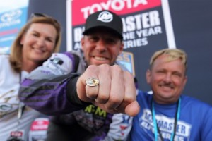 Aaron Martens AOY Ring from Sturgeon Bay Community - photo by Seigo Saito - Bassmaster