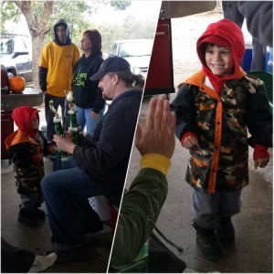 The smile and pride on this young anglers face when he found out he won both categories in his age group is priceless