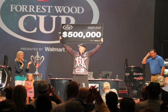 Could This be the last $500,000 Payout in Bass Fishing - photo by Dan O'Sullivan