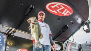 2016 FLW Tour Lake Okeechobee Day Three Leader Bradley Hallman - photo courtesy FLW