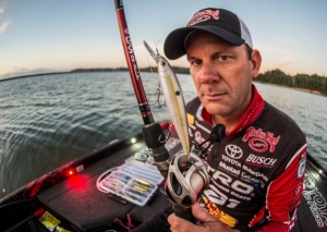 Kevin VanDam Shows off his Strike King KVD J300 Deep Jerkbait