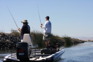 Future Pro Tour Anglers Fish the California Delta in the Good Ol Days - photo by Dan O'Sullivan