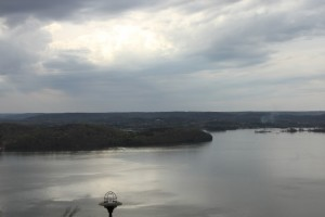 Has a Dark Cloud Moved in over Lake Guntersville, or has the Cheese Moved - photo by Dan O'Sullivan