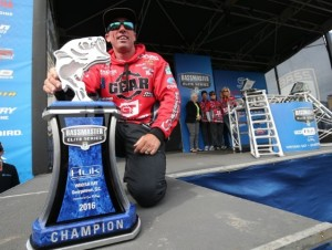 2016 Bassmaster Elite Series Winyah Bay Winner Britt Myers - photo by Gary Tramontina
