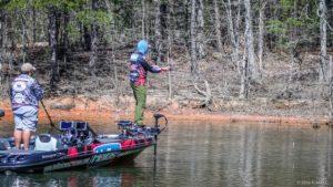 Wesley Strader Fishing - photo Courtesy FLW