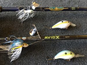 Some of Niggemeyer's Favorite River Lures - photo courtesy of James Niggemeyer